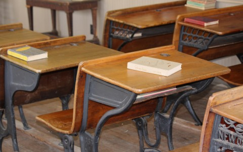 One Room School Desks