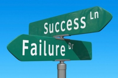 Crossroads: Success or Failure by Chris Potter of StockMonkeys.com, www.stockmonkeys.com.