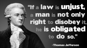 If a law is unjust